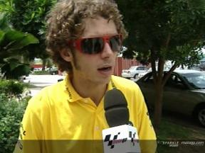 Valentino Rossi interview at Sepang Test