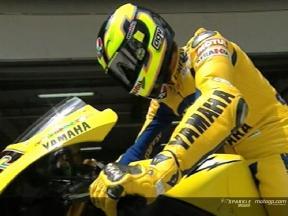 MotoGP riders testing in Sepang