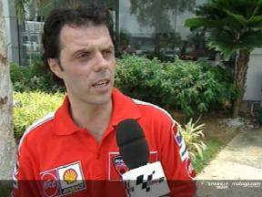 Loris Capirossi Interview - Sepang Test