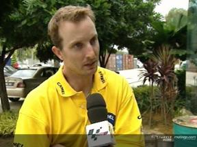 Colin Edwards interview at Sepang Test