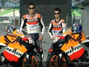 Repsol Honda unveil new livery at Sepang