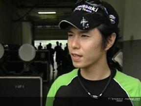 Shinya Nakano Interview - Sepang Test