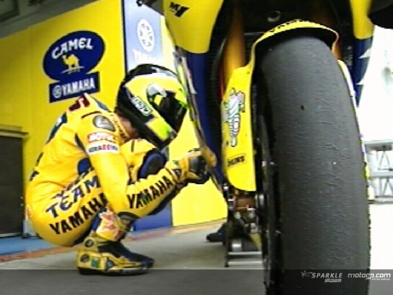 Valentino Rossi at Sepang Test