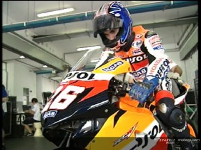 Dani Pedrosa at Sepang Test