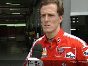 Interview de Sete Gibernau apres Sepang Test