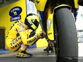 Valentino Rossi en el test de Sepang