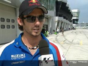 John Hopkins talks about Suzuki´s progress
