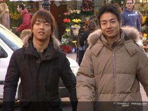 The Aoyama brothers´ daily life in Barcelona