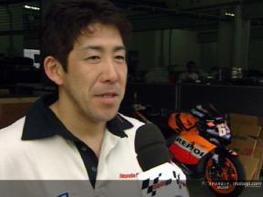 Okada valora la evolución de la Honda en Sepang