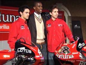 Fortuna Aprilia Team present their plans for 2006