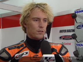 Entrevista a Anthony West tras el Test de Valencia