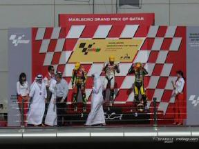 Enjoy the 250cc race in Losail Circuit, with commentary