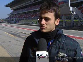Sergio Gadea Interview nach dem FP1