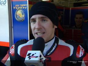 Entrevista a Roberto Locatelli depois da MotoGP Official Test