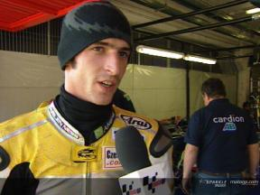Jakub Smrz Interview nach dem MotoGP Official Test