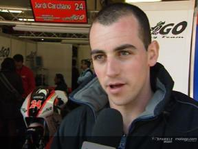 Jordi Carchano interview after the MotoGP Official Test