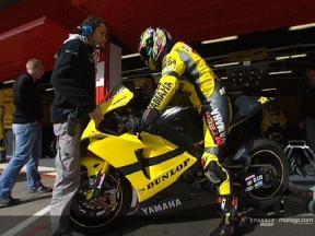 Tech3 Yamaha debut new bike designs in Montmeló