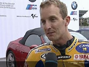 Colin Edwards Interview nach dem QP
