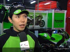 Shinya Nakano interview after QP