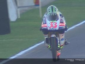 Commented highlights of the 125cc practice in Valencia