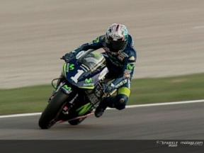 Commented highlights of the 250cc practice in Valencia