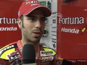 Marco Melandri Interview - Jerez Test