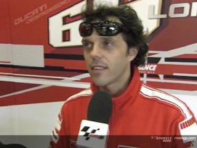 Intervista a Loris Capirossi post Jerez Test