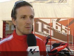Interview de Sete Gibernau apres Jerez Test