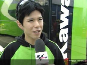 Shinya Nakano Interview nach dem Jerez Test