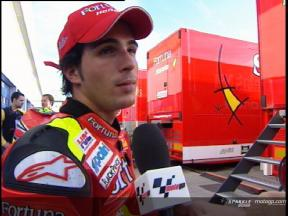 Intervista a Toni Elias post Jerez Test