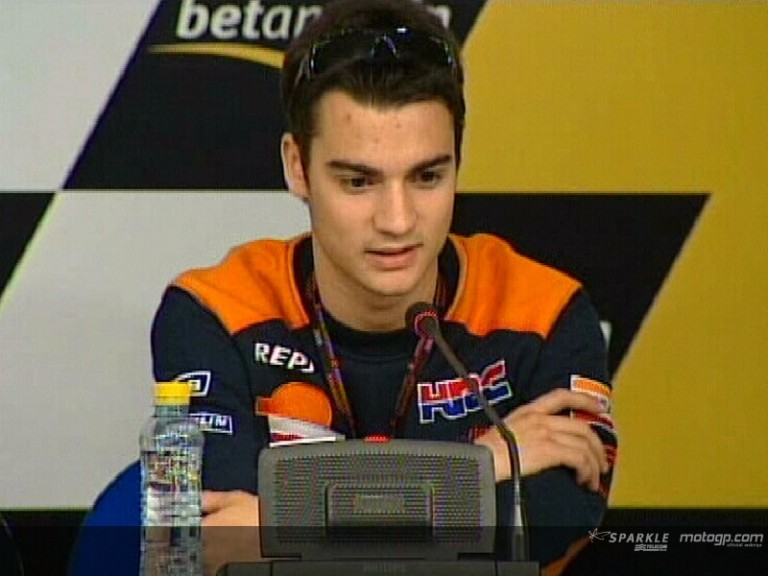 Daniel Pedrosa interview