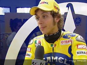 Valentino Rossi interview after FP2