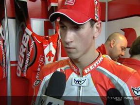 Interview de Lukas Pesek apres QP1