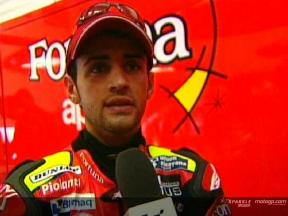 Intervista a Hector Barbera post QP1