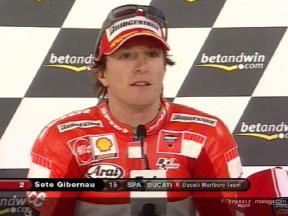 Sete Gibernau interview after QP