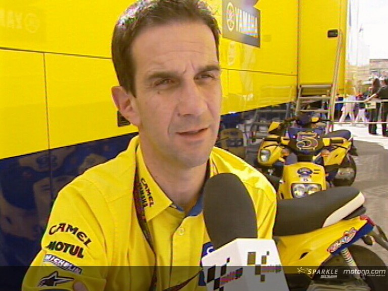 Davide Brivio, Team Director Camel Yamaha