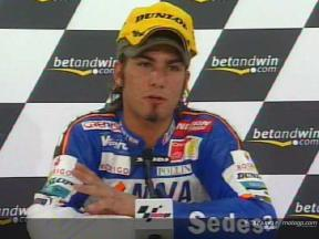 Mattia Pasini interview after race