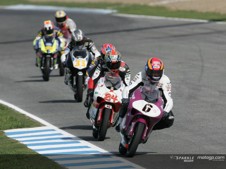 125cc Circuit Action Shots - Gran Premio betandwin.com de España