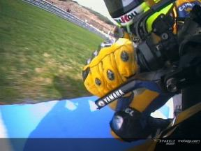 Rossi`s start at Jerez race