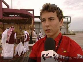 Jorge Lorenzo at Qatar