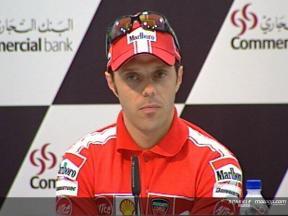 Capirossi - Conférence de presse GP Qatar