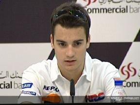 Pedrosa - Conférence de presse GP Qatar