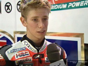 Casey Stoner interview after FP2