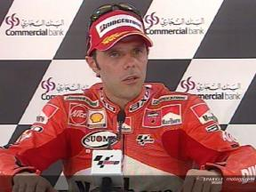 Loris Capirossi post QP