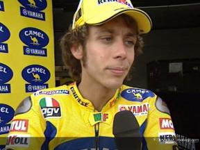 Valentino Rossi after QP