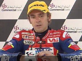 Roberto Locatelli nach dem Rennen