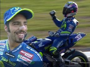 Melandri´s first MotoGP victory