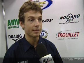 Sylvain GUINTOLI tras la QP1