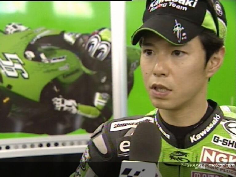 Shinya NAKANO after QP
