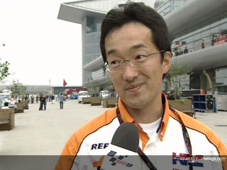 Makoto Tanaka (Repsol Honda Team Manager)